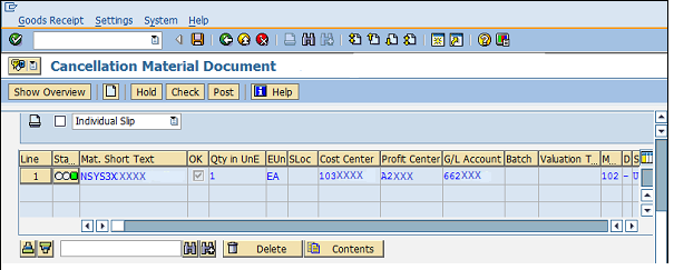 Inventory Management in SAP - Go Coding