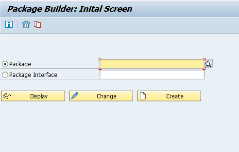 SAP Package Builder