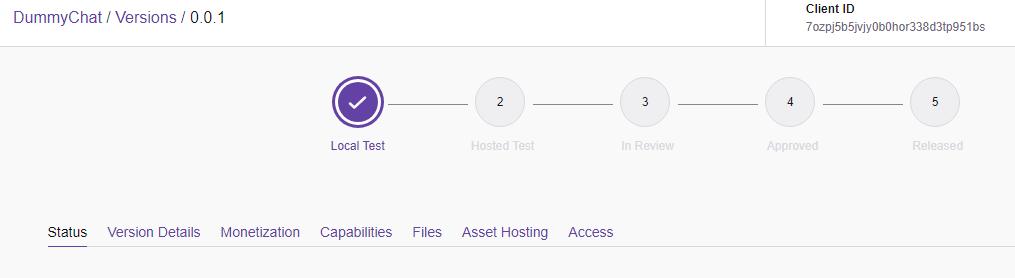 Twitch development website