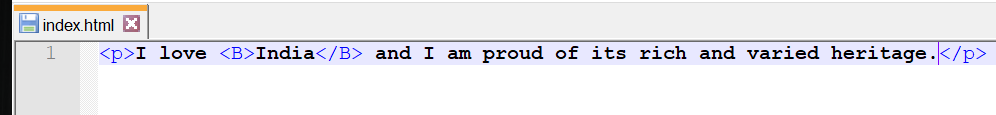 Nested HTML Elements