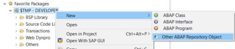 New ABAP Repository