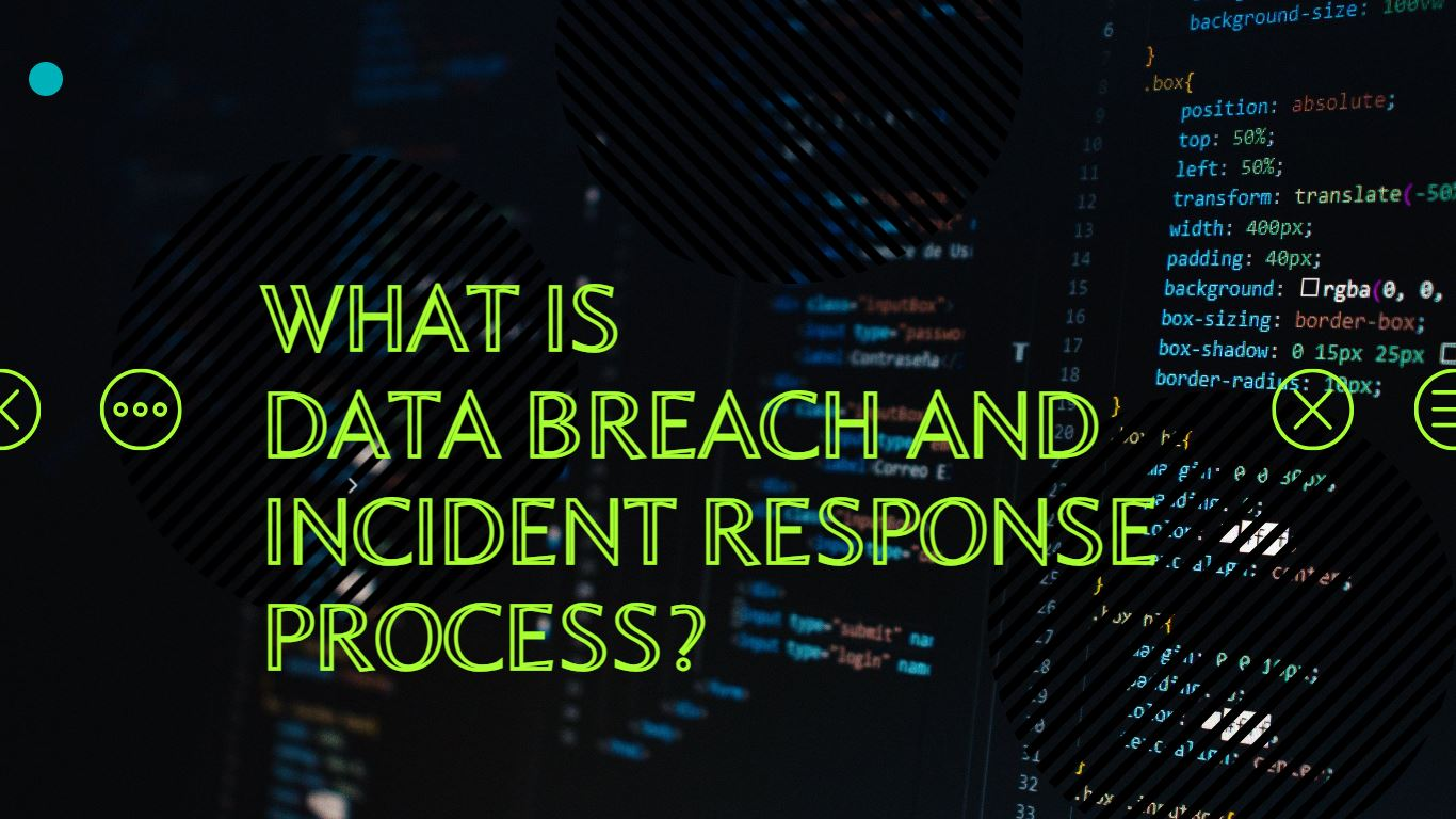Data Breach and Incident Response Process